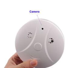 Smoke Detector Cam Hidden Surveillance Security Spy Camera/Recorder DVR Remote B