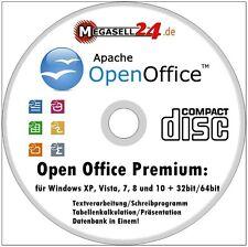 Open Office premium para Windows 10, 8 & 7 programa de escritura procesamiento de texto Slim