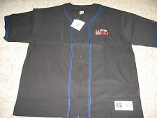 Vintage 90's Mlb New York Mets Authentic Zipper Baseball Jersey Nwt Sewn Letters