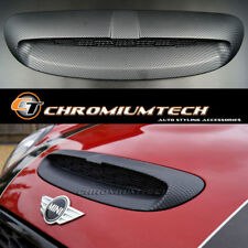 MK3 MINI Cooper/S/SD/JCW F55 F56 F57 Replacement Carbon Fibre Print Bonnet Scoop