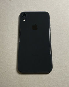 Apple iPhone XR 64GB Fully Unlocked (GSM+CDMA) AT&T T-Mobile Verizon Black