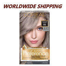 L'Oreal Paris Superior Preference Hair Color 8S Soft Silver Blonde WORLD SHIP