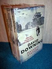 DAVID DOWNING - MASARYK, LEHRTER, POTSDAM STATION - NEW & SEALED 3 BOOK SET
