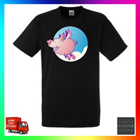 Pigs Will Fly TShirt T-Shirt Tee Unisex Cute Flying May Quote Saying Funny Cool