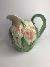 Fitz And Floyd Tulip Pitcher Figural 1988 2 1/2 Qt