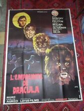 Curse Of The Devil 1973 OVERSIZED 63x45 FRENCH POSTER  Paul Naschy Horror VG
