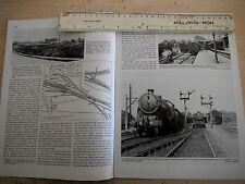 HEACHAM WELLS STANHOE DOCKING BURNHAM HOLKHAM HEACHAM RAILWAY ARTICLE PHOTOS MAP