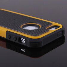 Shockproof Hard Bumper Soft Rubber Hybrid Case For Apple iPhone 6 Plus 6s 4 4s