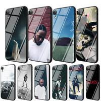 Kendrick Lamar TPU Glass Case for iPhone 8 7 6 6S Plus 5 X XS Max XR 11 Pro Max