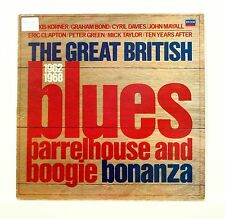 """GREAT BRITISH BLUES BARRELHOUSE & BOOGIE BONANZA"" 12"" DECCA TAB-53 [Stereo LP]"