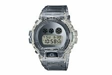 NEW G-SHOCK DW-6900SK-1  Watch Special Color Clear Skeleton Silver Free Shipping