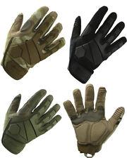 Kombat UK Guantes tácticos militares Airsoft Negro Alpha, Verde, dic