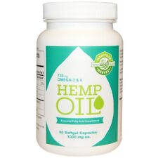 Manitoba Hemp Oil: 60 Capsules..Great for Joints & Energy
