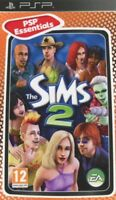 THE SIMS 2 PSP SONY PLAYSTATION PORTABLE NUOVO ITALIANO ESSENTIALS
