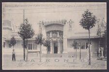TORINO CITTÀ 442 ESPOSIZIONE 1902 ARTE DECORATIVA MODERNA Cartolina viagg. 1902