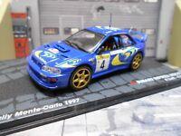 SUBARU Impreza WRC 97 Rallye Monte Carlo 1997 #4 Liatti Pons Win IXO Altaya 1:43