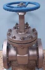 Qty. 1. Pk Valve Co. Ltd, 4� 300 Flanged Stainless Steel Cf8M Gate Valve