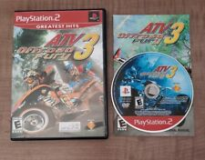 ATV Offroad Fury 3 (Sony PlayStation 2 PS2, 2004) Complete TESTED