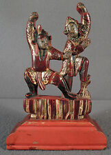 OLD OR ANTIQUE CHINESE CARVED WOOD FIGURES
