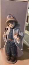 Lladro #6334 Fireman Mib! See The Difference!