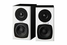 Fostex USA PM03H-W 2-Way Active Speaker System Studio Monitors, Pair, White