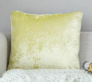 Super Soft Velvet Cushion Covers Velour Home Pillow Cases Solid Home Decoratives