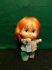 """Vintage Red Haired Made in Japan, Big Eyes, Pre Blythe 5"""" Doll."""