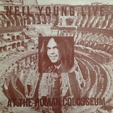LP - Neil Young & Crazy Horse ‎– Live At The Roman Colosseum (VG+/VG+)
