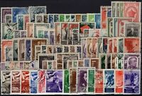 P130531/ RUSSIA STAMPS / LOT 1942 – 1949 USED CV 267 $