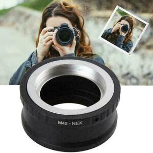 M42 to E mount Adapter Screw Metal Lens NEX a5000 A7R V0P5 A7MII A9P4 A7II Z6K5