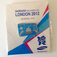 London 2012 Olympic Samsung Pin Badge VERY RARE