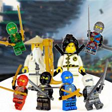 Ninjago Phantom Ninja Mini Figures Minifigures Building Blocks Assembled Toys X8