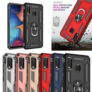 Phone Case For Samsung Galaxy A20e (A202F) Genuine Shock Proof + Tempered Glass