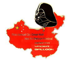 "BALLON ""SPECIAL SHAPE"" Pin / Pins - DARTH VADER CHINA BALLOON FESTIVAL [3407]"