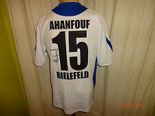 Arminia bielefeld Saller camiseta 2006/07 + nº 15 ahanfouf + firmado talla s-m top