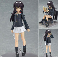 MAX Factory figma 247 Girls und Panzer: Mako Reizei PVC Figure IN STOCK Genuine