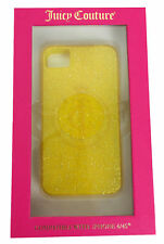 NEW Juicy Couture Glitter Gelli Case Yellow YTRUT228 For Apple iPhone 4/4S