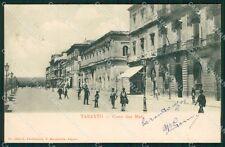 Taranto città corso due mari postcard cartolina KF3478