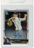 "2018 Bowman Chrome Prospect Auto.   ""Dustin May "" .RC ""Mint"" ++ @@LOOk@@ **Hot**"