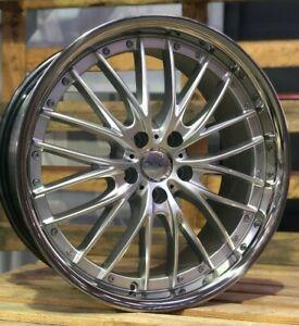 "19"" Inovit Haste Alloy Wheels 5x112 Silver fits Mercedes A Class"
