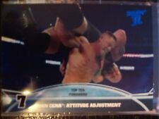 2013 Topps Best of WWE Top Ten Finishers #7 John Cena: Attitude Adjustment
