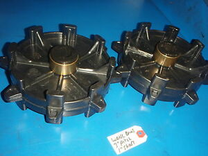 """WAHL BROS EXTROVERT DRIVE SPROCKETS  NEW 3"""" PITCH 1"""" SHAFT SEE PICS/ DETAIL"""