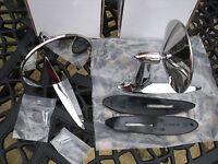 Pair Classic Car Longbase Door Wing Mirrors WINGARD RETRO FORD Cortina GT PAIR