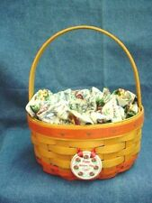 Longaberger 1998 Mother'S Day Series Rings and Things Basket Combo with Tie-On