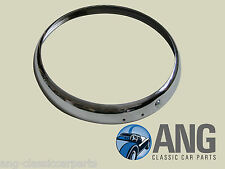 "STANDARD 8, 10 STAINLESS STEEL 7"" OUTER HEADLAMP RIM & SCREW 500929"