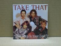 TAKE THAT - HOW DEEP IS YOUR LOVE - CD SINGOL - SEALED!