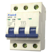 50AMP - Fireice - MCB 3 Pole 6kA - Circuit Breaker for Switchboard ! Three Phase
