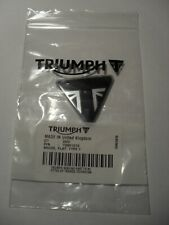 GENUINE TRIUMPH TRIANGLE LOGO DECAL BADGE ENGINE COVER FAIRING PANEL SISSY BAR