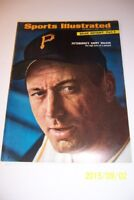 1966 Sports Illustrated PITTSBURGH PIRATES Harry Walker BEAR BRYANT No Label