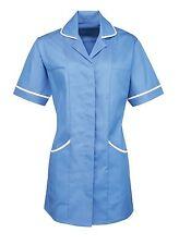 Ladies Women's Premier Healthcare Tunic Spa Doctor Nurse Carers Lab Uniform New